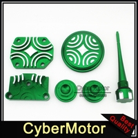 Green Engine Dress Up Kit Valve Cover For Chinese 50cc 70cc 90cc 110cc 125cc Engine Pit Dirt Bike Motorcycle Quad ATV