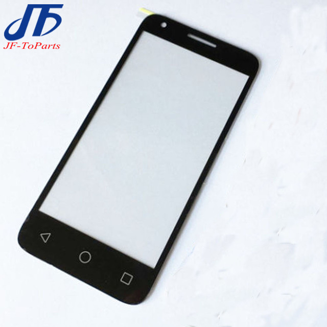 US $11 69 |10pcs Black replacement For Alcatel One Touch Pixi 3 4 5 4027D  4027X 4027 A5017 4060 Front Outer Glass Lens Repair Touch Screen -in Mobile