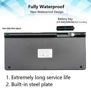 Image 5 - Ultra Dünne Drahtlose Tastatur Tragbare 2,4G Mini Tastatur Maus Set Für Mac/Notebook/TV Box/PC büro Liefert für IOS Android