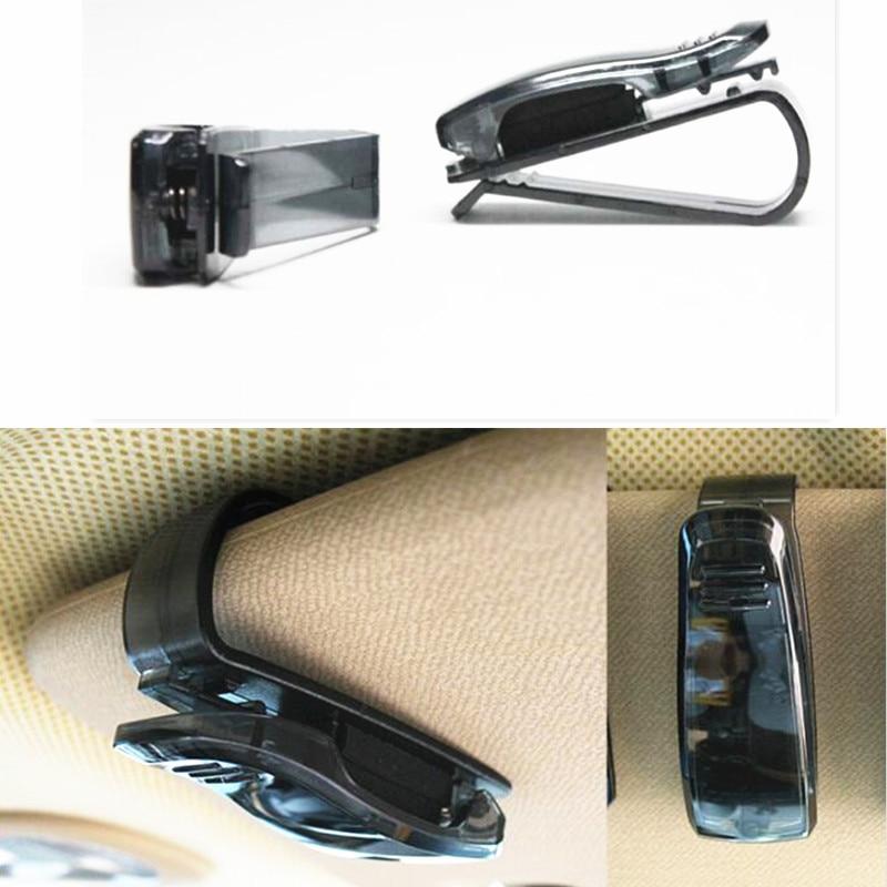 Bilhete De Cartão óculos clipe Auto Prendedor para renault scenic 2 vw passat b7 fiat 500x mitsubishi outlander 3 Vesta lada acessórios