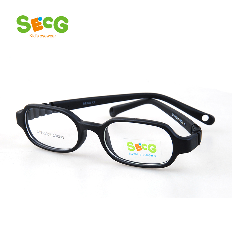 Optical Children Glasses Frames Silicone For Sight Glasses Children Myopia Colorful Resin Kids Eyewear Spectacles