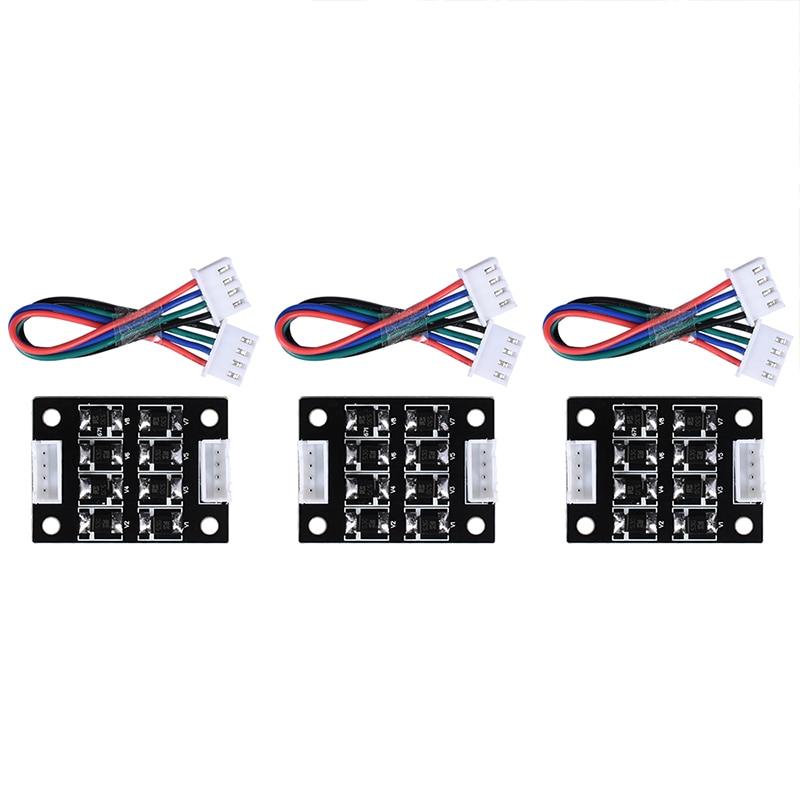 3/4 PCS TL-Smoother V1.0 40*30mm Nuovo Kit Modulo Addon Nero Filtro Per Stampante 3D Driver del motore