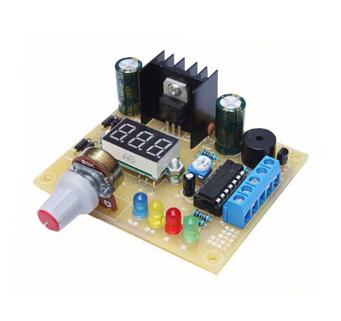DIY LM317 Adjustable Voltage Power Supply Board Learning Kit no case