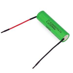 Image 3 - VariCore VTC6 3,7 V 3000 mAh 18650 литий ионная батарея 20A разрядка VC18650VTC6 инструменты электронные сигареты батареи + DIY линия