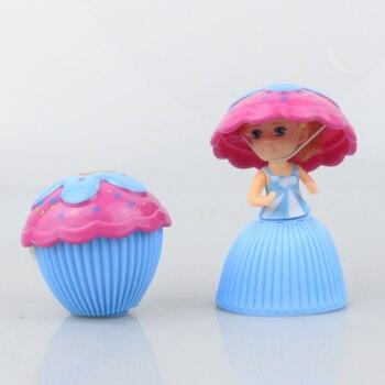 1  Kids Mini Cartoon Cupcake Dolls Toys for Girls Children Educational Transformed Cake Doll Lovely Makeup Learning Fun Juguetes 1