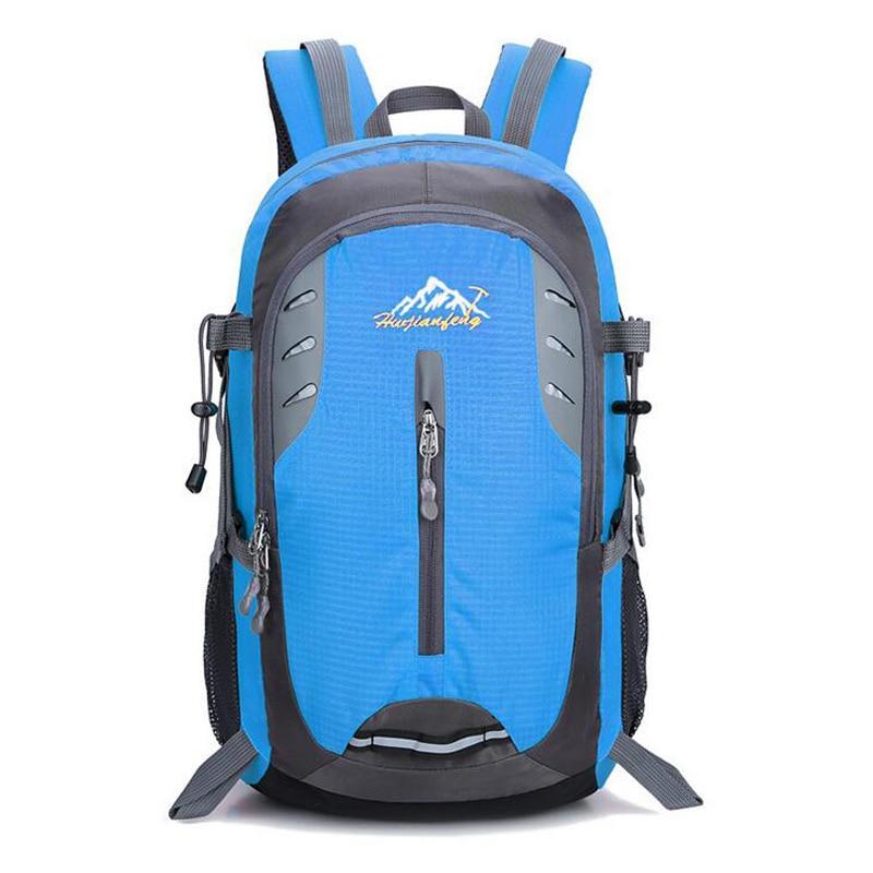 2018 30L Outdoor Travel Backpack Mountaineering Bag Men Women Knapsack Sport Bags Backpack Mochila Camping Hiking Rucksacks