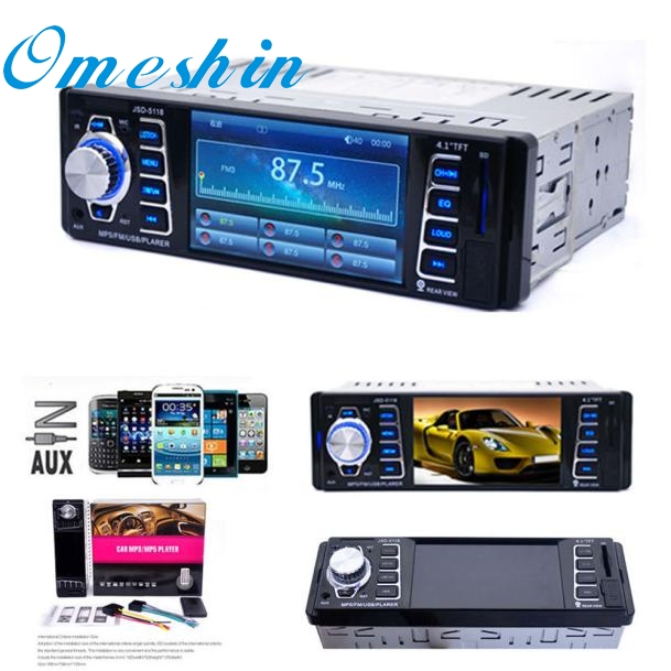 ФОТО New Arrival  In Dash Car MP5 Player USB/TF MP3 Stereo Audio Receiver Bluetooth FM Radio