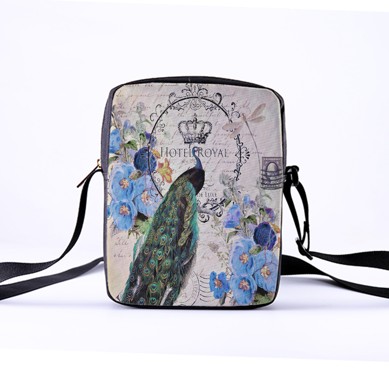f83fa99f83 CROWDALE 2018 Women Messenger Bags 23x17x5cm 3D Denim peacock Shoulder Bag  Children Crossbody Bag for Girls Kawaii Bags Bolsas-in Crossbody Bags from  ...