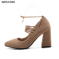 NEMAONE 2019 New Fashion Erogenous Womens Pumps Summer Shoes Pointed Toe 9cm Super High Heel Shoes Lady Large Size 39
