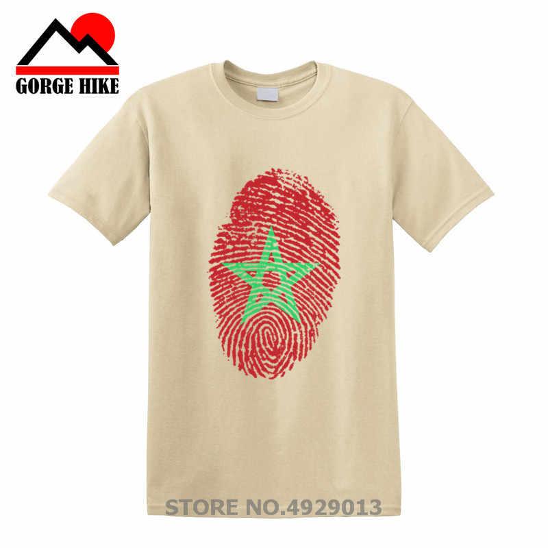 2019 モロッコ旗指紋 Tシャツ Tシャツシャツストライプトップススター Tシャツヒップホップ服カスタムグラフィック Tシャツ