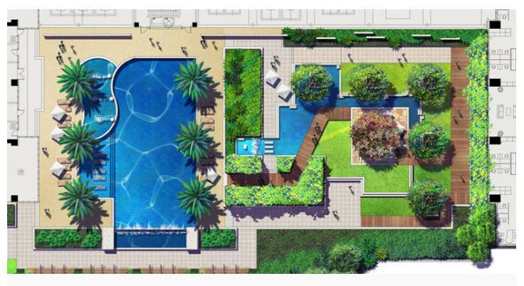 free shopping 2015 new building roof garden landscape design color floor plan wallpaperchina