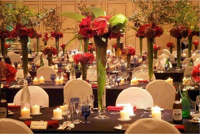 60 Cm Hoch 12 Stucke Hochzeit Blumenstander Vase Mittelstucke Fur