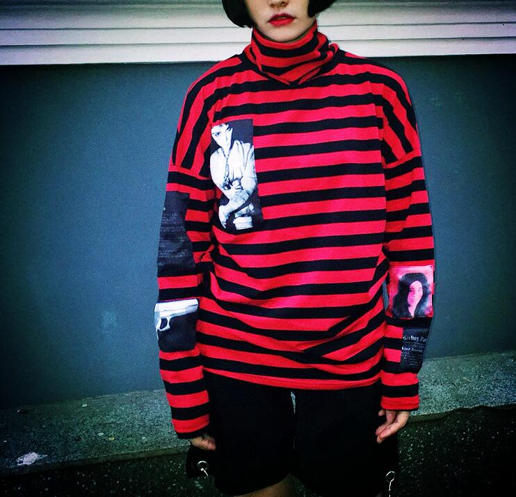 KPOP Bangtan Boys SUGA Red Bigbang GD G-Dragon Same pullover Hoodie Unisex Sweatershirt new kpop bigbang gd gdragon the same gd is back peaceminusone seoul hand bag