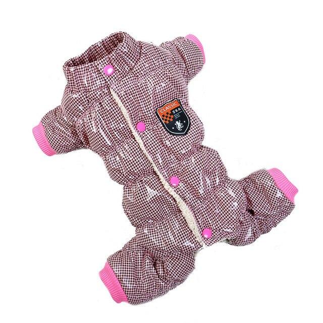 Thickening Warm Dog Jumpsuit