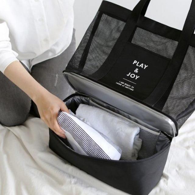 157f0f12f lunch bag bolsa termica cooler bags for women picnic food sac isotherme  thermal lancheira escolar bolsas double deck