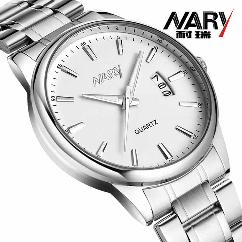 Man Watch 2018 Top Luxury Brand Nary Watch Man Stainless Steel Men Watch Casual Wristwatch Quartz Herren Uhren relogio masculino