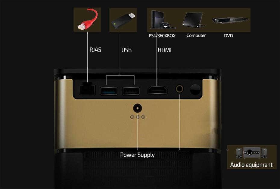 Jmgo V8 Led Projector  (10)