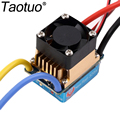 Taotuo Brushed ESC 320A 3S with Fan 5V 3A BEC T Plug For 1/10 RC Car Traxxas Toy Parts