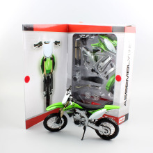 1:12 scale maisto Kids Kawasaki KX 450F Assembly line motorcycle model metal motor bike diecast off road dirt car gifts DIY toys
