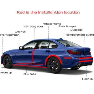 Image 5 - ドア敷居プロテクターエッジガード車のステッカー車のバンパーストリップトヨタプラド用カースタイリング車のアクセサリー