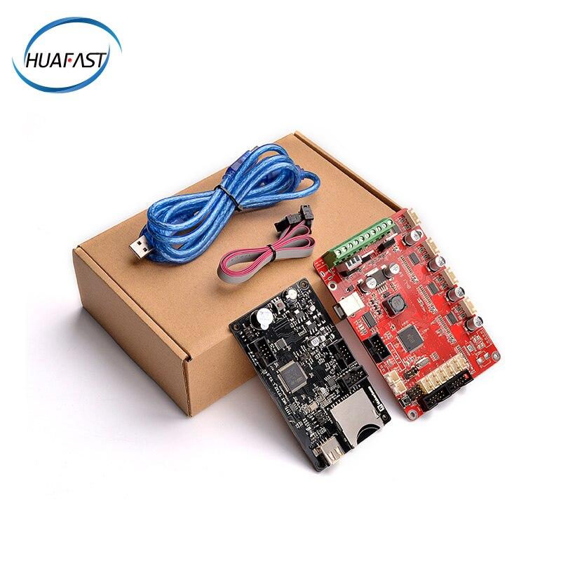Kit d'écran de carte d'imprimante 3d HUAFAST 24 v contrôleur carte mère reprap ramps1.4 arduino fdm prusa i3 Marlin firmware mks TFT