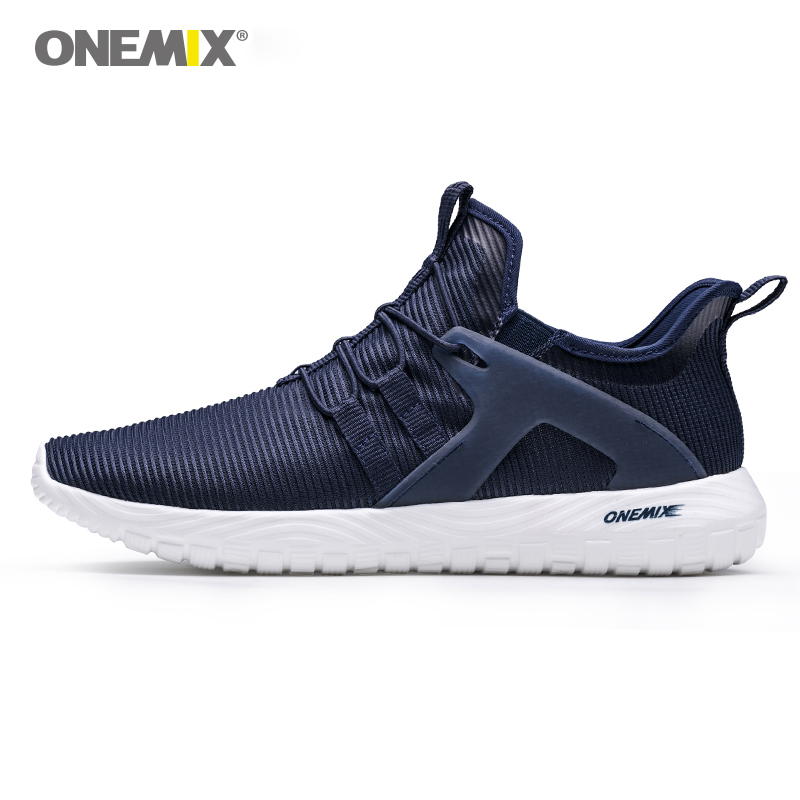 ONEMIX 2018 Men Running Shoes Super Light Sneakers For Women High Elastic Soft Outsole For Outdoor Jogging Walking Shoes Loves