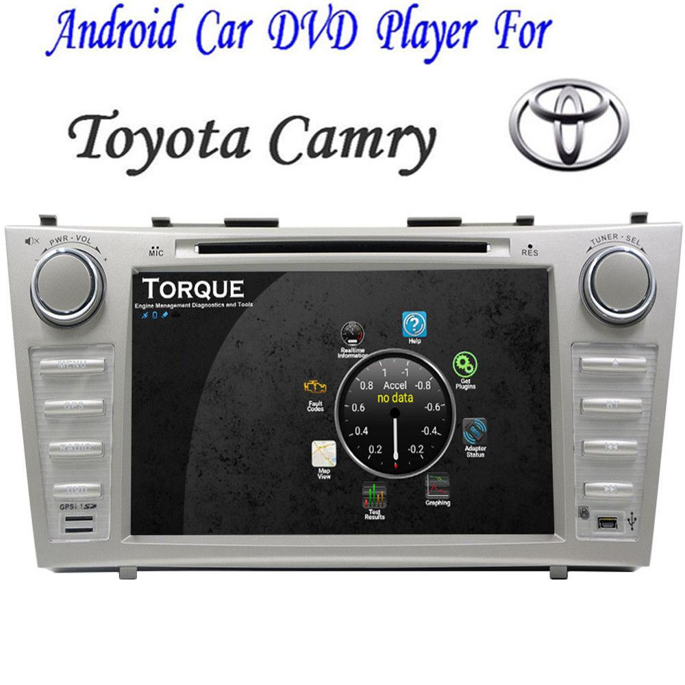 Android6.0 OS 8 Car DVD Player Radio Stereo GPS Wifi for Toyota Camry 2007-2011