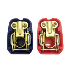 1 Pair 2 Pieces Car Battery Quick Connector Easy Install Terminal Pile Lifting Charging Accessories
