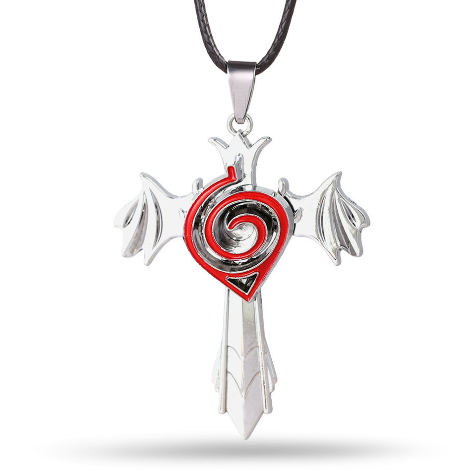 Anime naruto necklace uchiha sasukes necklace hatake kakashi anime naruto necklace uchiha sasukes necklace hatake kakashi necklace konoha ninja village pendant necklace fashion in pendants from jewelry accessories biocorpaavc Image collections