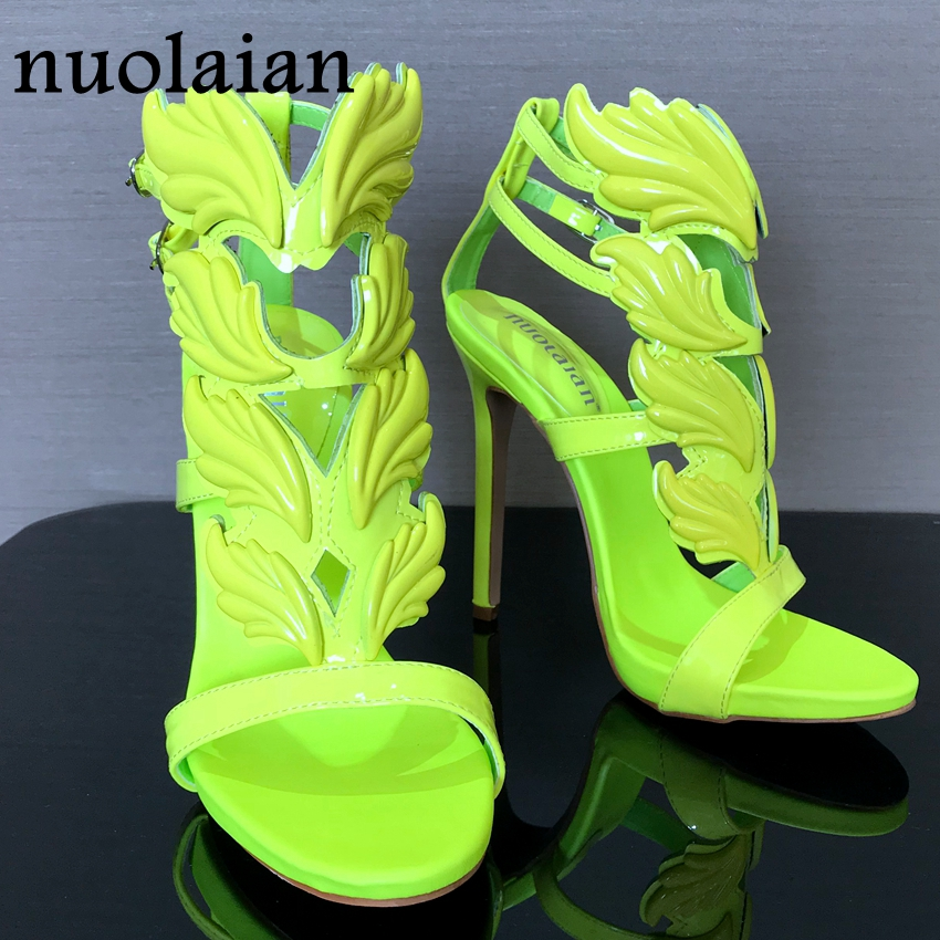 Brand Shoes Woman Leaf Flame High Heels Zapatos Mujer Womens Platform Pumps Women Sandals Summer Party Wedding Shoes Peep Toe рачков м физические основы измерений учебное пособие для спо