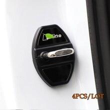 Kracng Car Door Lock Protection Cover for AUDI A3/A4L/A6L/Q3/Q5/A7/Q7