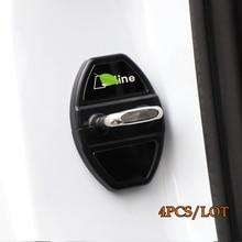 цена на Kracng Car Door Lock Protection Cover for AUDI A3/A4L/A6L/Q3/Q5/A7/Q7