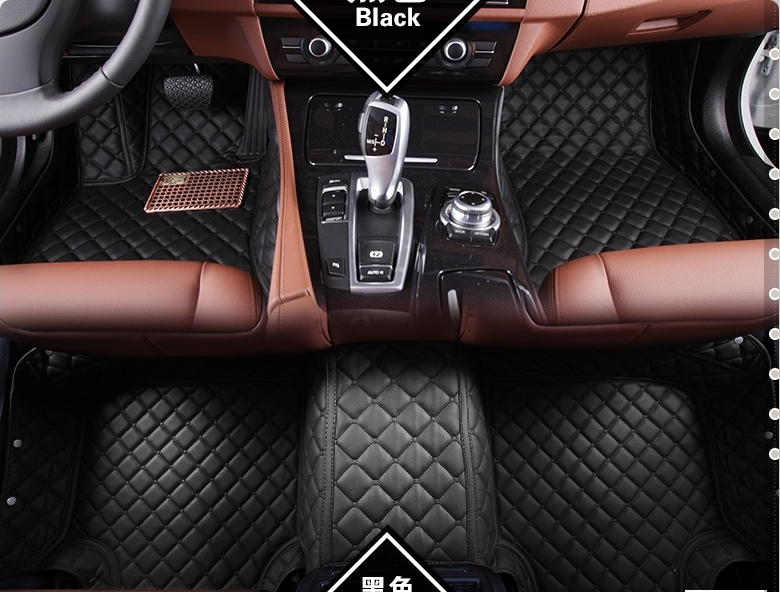 Special Car Floor Mats For Audi Q7 2017 2010 Durable Waterproof Leather Ottomans Free Shipping In From Automobiles