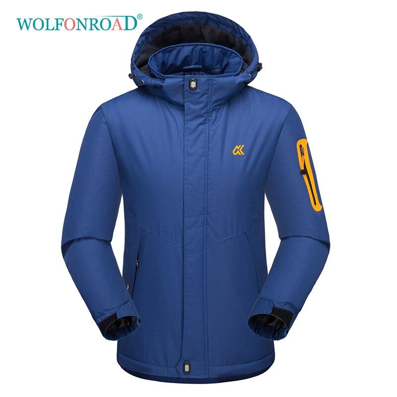 все цены на WOLFONROAD Outdoor Men's Fleece Thermal Jacket Winter Waterproof Hiking Jackets Camping Mountain Sport Jacket Coat 5XL Outwear