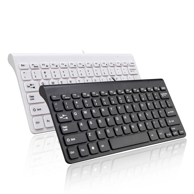 Wireless Mouse Keyboard Combo Set 2.4G Mini Size Multimedia For Tablet Laptop Mac Desktop PC TV Andrews Windows