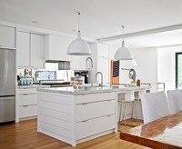 Новый дизайн современный кухонный гарнитур индивидуальный дизайн кухонной мебели лак кухонные шкафы кварцевый камень счетчик