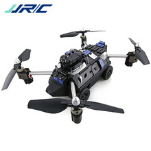 JJRC 720P HD Camera Altitude Air Land Mode RC Quadcopter Car Drone Helicopter Toys RTF With