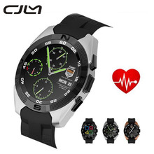 Cjlm new smartwatch nb-1 bluetooth smart watch no. 1 g5 led licht Display mit Pulsmesser für Android und IOS Watchphone