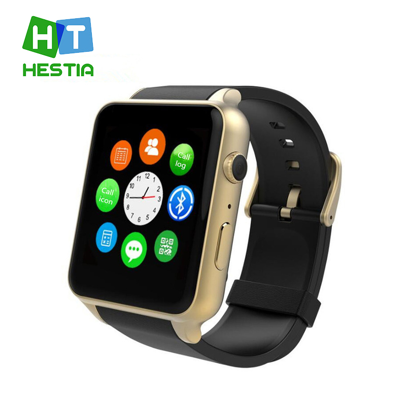 HESTIA GT88 Support GSM SIM Card Bluetooth waterproof Smart Watch with Camera Heart Rate Monitor NFC Smartwatch for Android IOS fashion s1 smart watch phone fitness sports heart rate monitor support android 5 1 sim card wifi bluetooth gps camera smartwatch