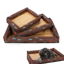Pet Dog Bed Mats Bench Sofa Cool Mat For Small Medium Large Dogs Puppy Beds Kennels Cat Products Summer