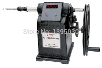 1pc New Manual Hand Coil Counting Winding Winder Machine For Thick Wire 2.5mm NZ-7 high quality new manual electric winder coil winding machine winder xb c 2pcs lot