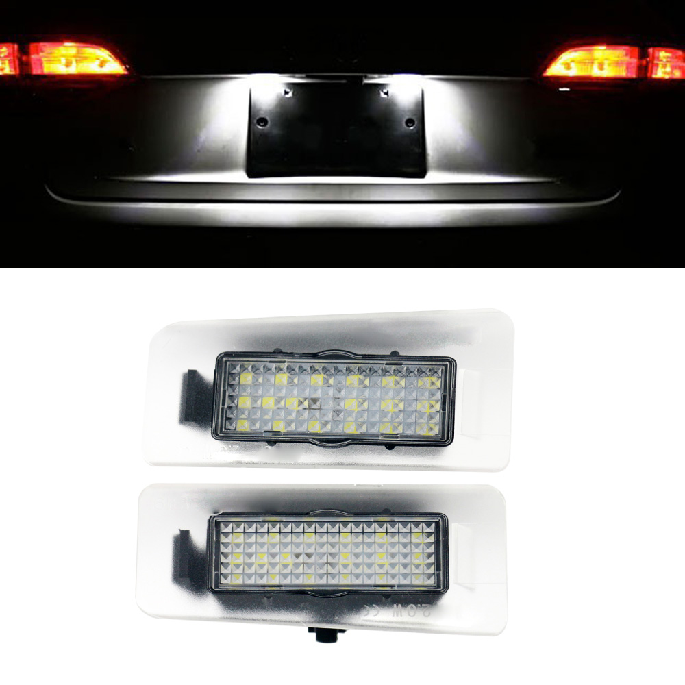 2x Canbus White LED License Plate light For Hyundai Elantra 2011~  I30 2012~  Car styling auto accessory car accessories luxury sports door wrist bowl stick handle decorative exterior smooth paste for hyundai elantra 2012 2016