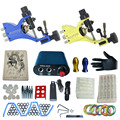 tattoo complete tattoo kit power supply+poot pedal+2 alloy grips+accessories 1kitB