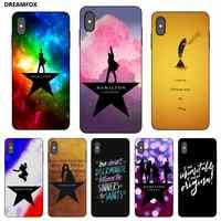 P079 Hamilton Schwarz Silikon Fall Abdeckung Für Apple iPhone 11 Pro XR XS Max X 8 7 6 6S plus 5 5S SE