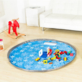 Saco De Armazenamento portátil Toy Kids and Play Mat Brinquedos Lego Sacos De Armazenamento Organizador Bin Box Moda Prático