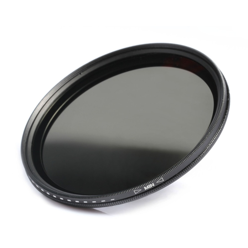 ND2 - ND400 Neutral Density filter 77mm + a cleaning cloth K&Fconcept For Canon 5D Mark II 7D