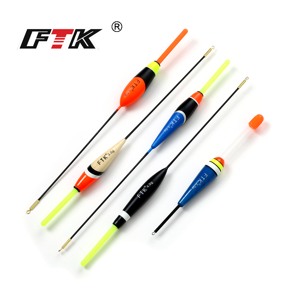 FTK 10Pcs/Lot Float 2g 3g 4g Length 14.5 cm 22cm 23cm Barguzinsky Fir Fishing Float Carp Fishing