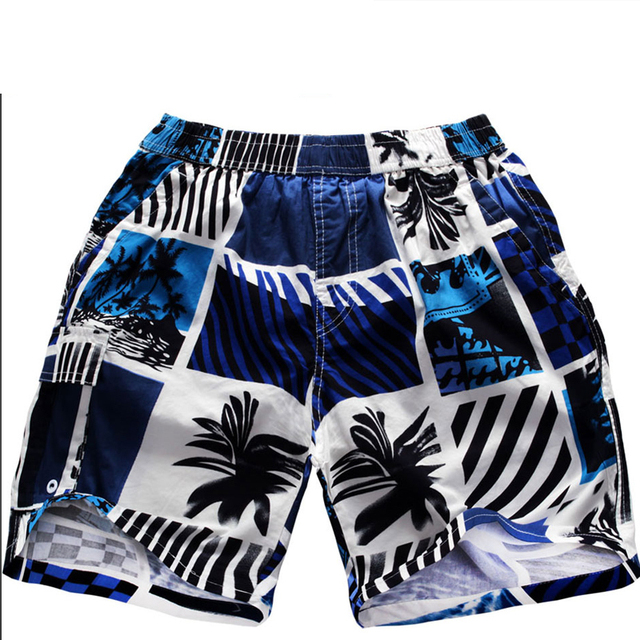 Pure cotton five minutes of pants mens board shorts swim shorts men board shorts boys plus-size quick-drying pants D104