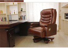 Luxury boss chair. Can lie leather of large chairs. High back of a chair lift chairs