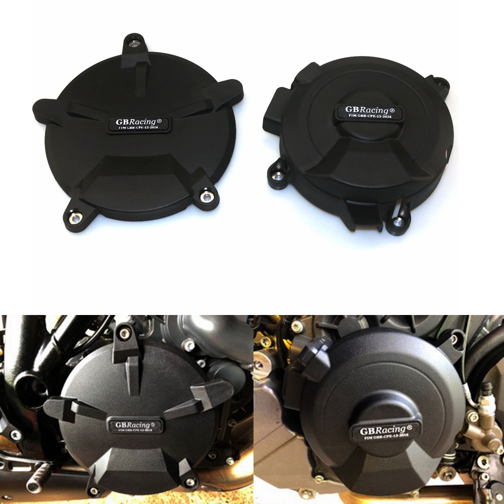 Motorcycles Engine cover Protection case for case GB Racing For KTM 1290(R) SUPER DUKE ENGINE COVER SET 2014 2015 2016 2017 2018 motorcycles engine cover protection case for case gb racing for honda cbr1000rr fireblade sp 2017 engine covers protectors